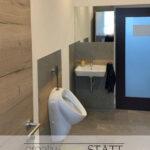 WC Toilette Nördlingen wc Neubau Restauration Renovierung Betonboden Vinyl Betonoptik