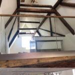 Dachausbau Nördlingen Bühne Holz Balken Glasbrüstung Donau Ries Schreinerei
